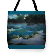 Blue Eden Tote Bag