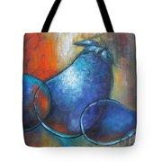 Blue Eggplants Tote Bag