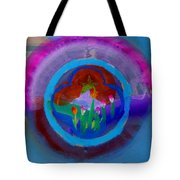 Blue Embrace Tote Bag
