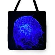 Blue Energy - Jellyfish Tote Bag