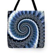 Blue Escheresque Tote Bag
