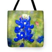Blue-est Of Blues Tote Bag