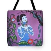 Blue Eve  No. 2 Tote Bag