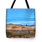 Blue Evening In Ludington State Park Tote Bag