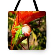 Blue Eyed Grasshopper 2 Tote Bag