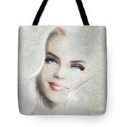 Blue Eyes Blond  Tote Bag