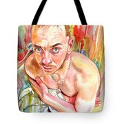 Blue Eyes Heartbreaker Tote Bag