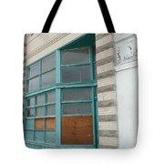 Blue Facade Tote Bag