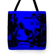 Blue Fashion Tote Bag