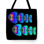 Blue Fishes Tote Bag