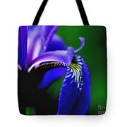 Blue Flag Iris Tote Bag