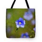 Blue Flax #4 Tote Bag