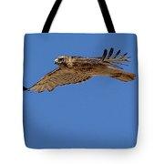 Blue Flight Tote Bag