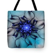 Blue Floral 083010 Tote Bag