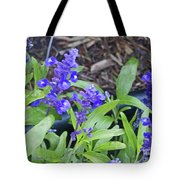 Blue Flower B6 Tote Bag