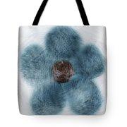 Blue Flower Cloud Tote Bag