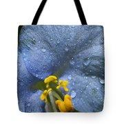 Blue Spring Flower Tote Bag