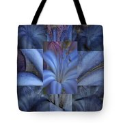 Blue Flower Tote Bag