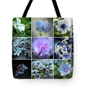 Blue Flowers All Tote Bag
