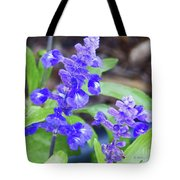 Blue Flowers B4 Tote Bag