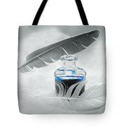 Blue Fly  Tote Bag