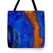 Blue Force Tote Bag