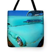 Blue Ford Pickup Truck Tote Bag