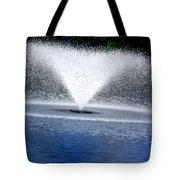 Blue Fountain Tote Bag