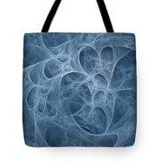 Blue Fugue Tote Bag