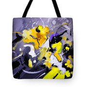 Blue Galactic Motion Tote Bag