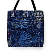 Blue Gate Barcelona Tote Bag