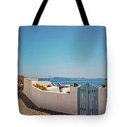 Blue Gate Santorini Tote Bag