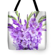 Blue  Gladiolus Tote Bag