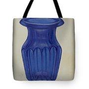 Blue Glass Tote Bag