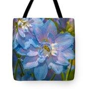 Blue Glory Tote Bag