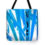 Blue Grass Tote Bag