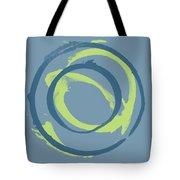 Blue Green 1 Tote Bag