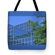 Blue Green Harmony Tote Bag