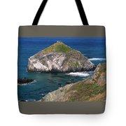 Blue Green Seas - Highway One Tote Bag