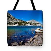 Blue Green Treasure Lake Tote Bag
