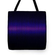 Blue Grid Tote Bag
