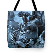 Blue Grotto Tote Bag