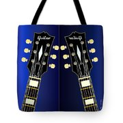 Blue Guitar Reflections Tote Bag