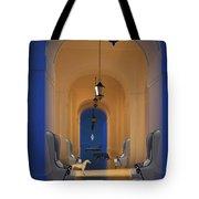 Blue Hall No. 3 Tote Bag