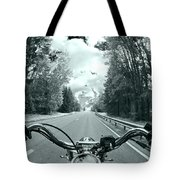 Blue Harley Tote Bag