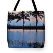 Blue Hawaiian Tote Bag