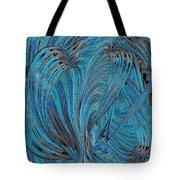 Blue Hearts Open Tote Bag
