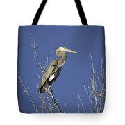 Blue Heron 19 Tote Bag