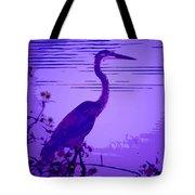 Blue Heron... Tote Bag