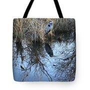 Blue Heron. Tote Bag
